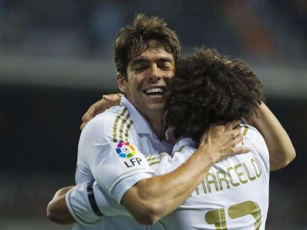 Após lesões, Marcelo e Kaká voltam a treinar com Real Madrid