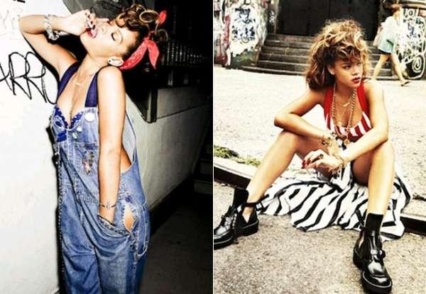Rihanna aparece fumando em ensaio sensual e causa polêmica