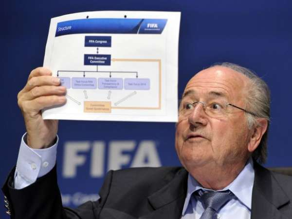Tabloide faz campanha para tirar Blatter da Fifa