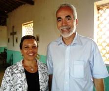 Deputado Jesus Rodrigues e Vereadora Claudina, visitam a Lapa