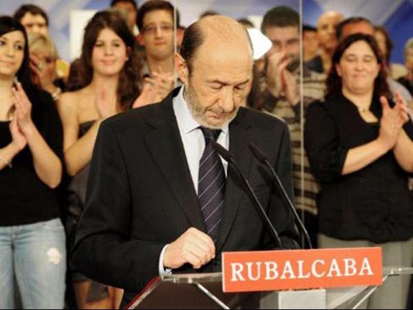 Governo socialista reconhece vitória do Partido Popular na Espanha