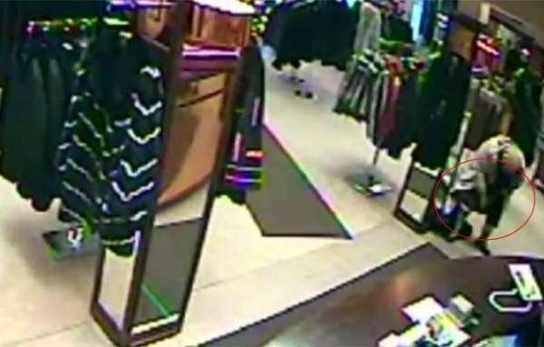 Polícia demora 3 dias para achar casaco em calcinha de ladra