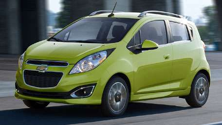 General Motors lança Chevrolet Spark no Salão de Los Angeles