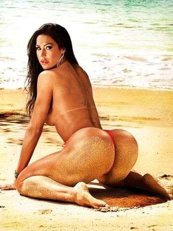 Revista Sexy divulga novas fotos do ensaio nu de Gracyanne Barbosa