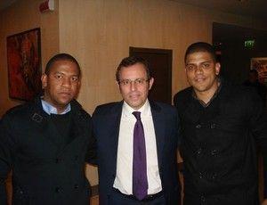 Empresário de Damião se reúne com presidente do Barcelona