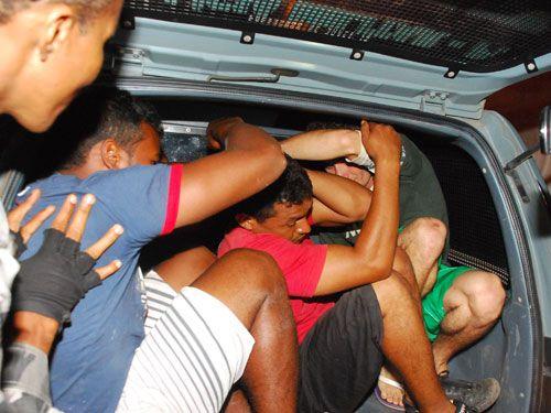 Rone prende quatro assaltantes na zona Sul de THE