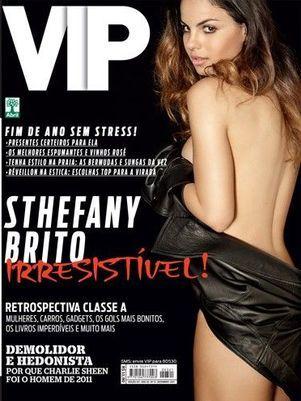 Sthefany Brito é capa da revista