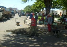 Ruas são pavimentadas em Elesbão Veloso