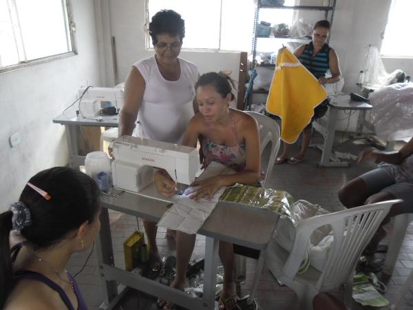 A SEMAS realiza Cursos Profissionalizantes Para Famílias Carentes
