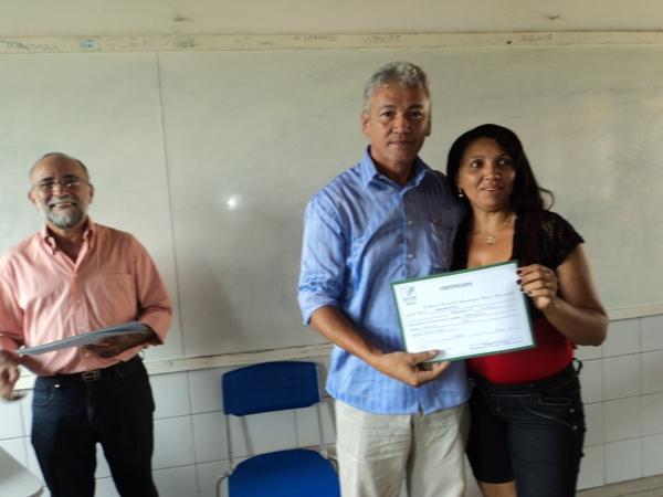 SENAR Entrega Certificados do Curso Empreendedor Rural