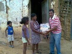 Projeto social: mais cestas básicas entregues a famílias carentes do município