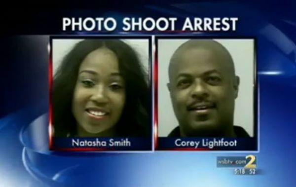 Jovem é presa após posar nua para fotos ao lado de igreja