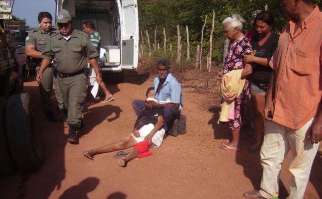 Acidente na Estrada que Liga Valença a Serra do Batista deixa uma vitima Fatal