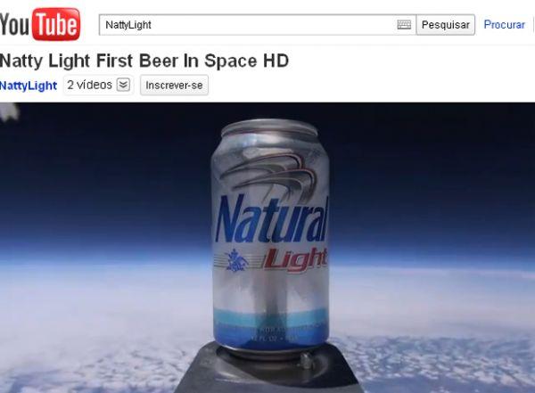 Dupla diz ter lançado primeira lata de cerveja ao espaço