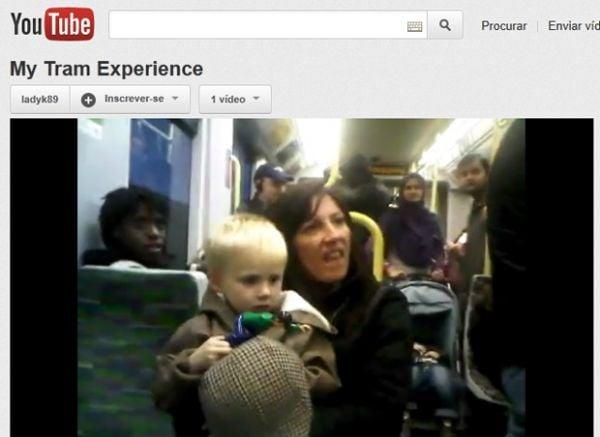 Mulher é presa por racismo após ser filmada xingando passageiros de trem
