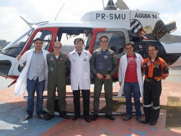 Médico sanraimundense está atuando com a equipe do Águia Dourada em SP