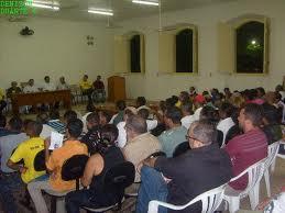 Tudo pronto para a audiência pública com assentados e autoridades dos governos estadual e municipal
