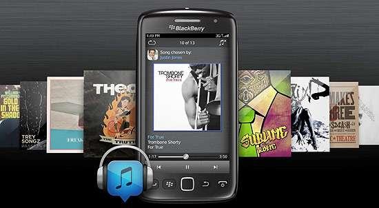 BlackBerry ganha serviço de troca de músicas entre contatos