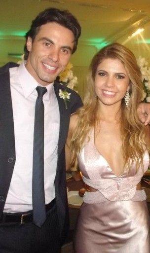 Sister apareceu em imagens de uma festa com Diego Galante, mas negou o affair.