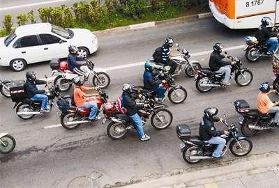 Mortos no Brasil em acidentes com motocicletas triplica em nove anos