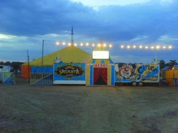 Mais um grande espetáculo do Circo Delplata