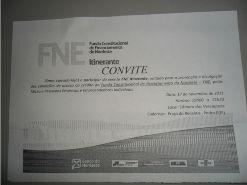 FNE realizará evento em Pedro II dia 17/11/2011