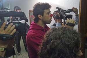 Estudante é detido durante manifestação no Senado
