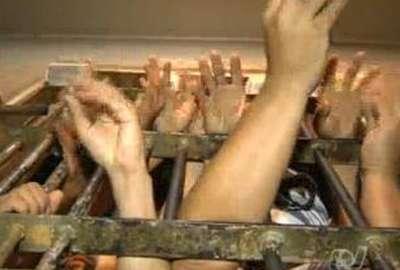 Presos fazem greve de fome contra superlotação de delegacia
