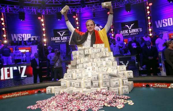 Alemão ganha US$ 8,7 milhões em concurso de pôquer