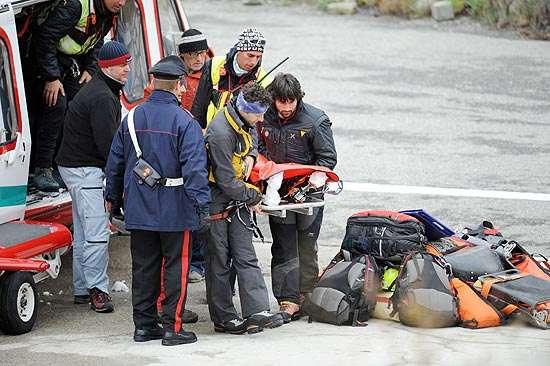 Alpinistas franceses presos no Mont Blanc são encontrados mortos