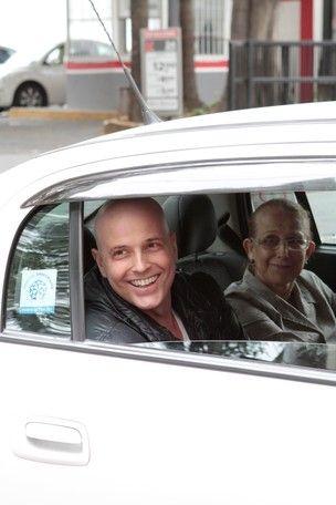 Gianecchini volta a ser internado para sessão de quimioterapia
