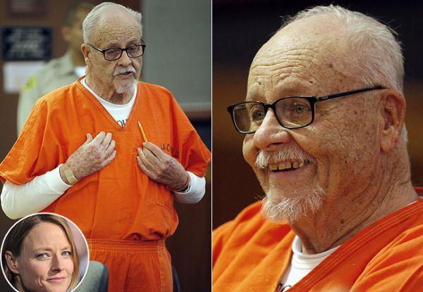 Aos 89 anos, pai da atriz pega cinco anos de prisão