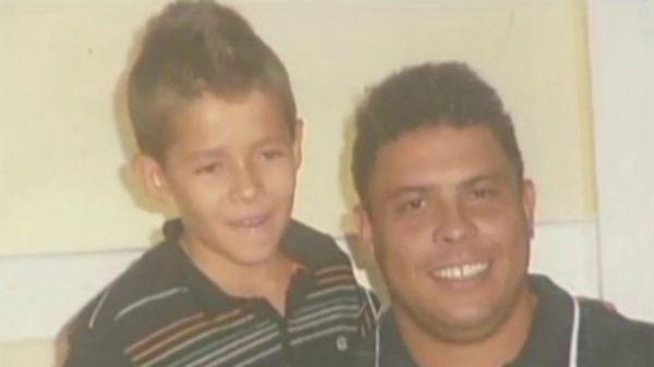 Apadrinhado por Ronaldo, capixaba de 9 anos é alvo do Real Madrid
