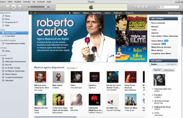 Apple lança iTunes Store no Brasil