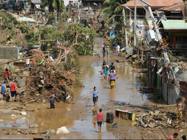 Tempestade tropical Washi deixa mais de 500 mortos nas Filipinas