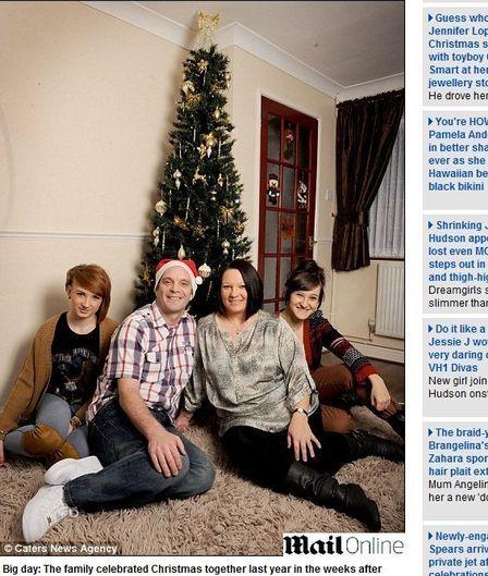 Britânico perde a memória e passa o primeiro Natal de que se lembre desde 1994