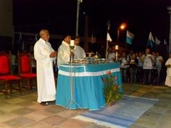 3ª Novena de N. S. da Conceição, participação da Obra Kolping
