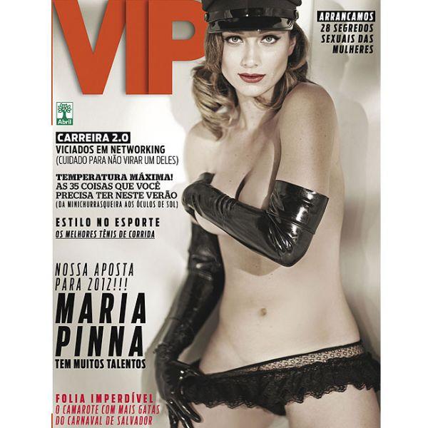 Ex-atriz de Malhação, Maria Pinna é capa da VIP de janeiro