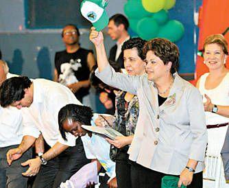 Dilma Rousseff diz que foi eleita para ser