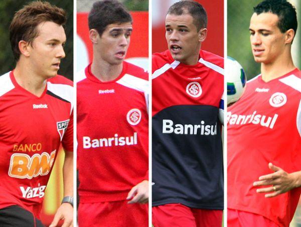 Inter arma quarteto ofensivo de quase 100 gols em 2011