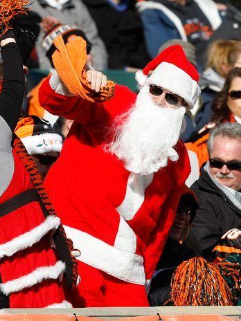 Rodada da NFL leva clima natalino aos Estados Unidos