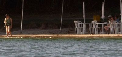 Contribuintes pagam R$ 650 mil nas férias de Dilma em praia da Bahia
