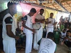 Capoeira: grupo ACTC numa troca de experiência com o grupo Cobra, de São Pedro do Piauí