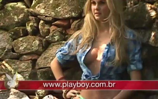 Após fotos liberadas, veja o making of do ensaio nu de Bárbara Evans na Playboy
