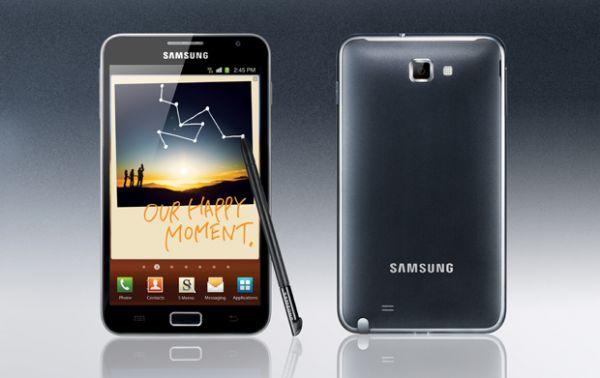 Galaxy Note, da Samsung, já vendeu 1 milhão de unidades