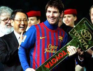 Pela 3ª vez seguida, jornal  elege Messi melhor da Europa