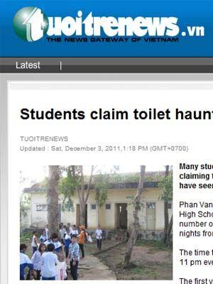 Alunos desmaiam em escola no Vietnã por