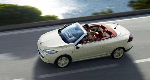 Renault anuncia o conversível Mégane Coupé-Cabriolet Floride