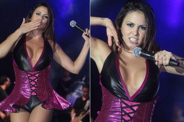 Alinne Rosa exibe