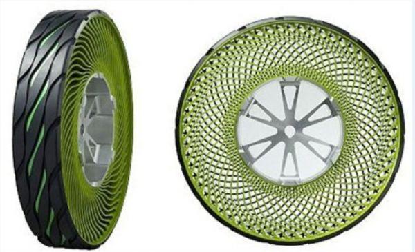 Fábrica cria pneu sem ar; lançamento no Japão